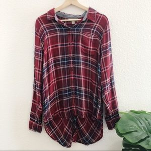 Lucky Brand Long Flannel Shirt